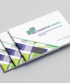 Дизайн презентации для многопрофильной строительной компании