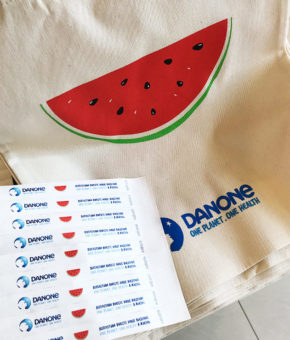 печать на ткани, корпоративные сумки