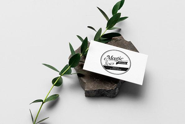 Разработка логотипа Magic Woods